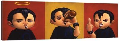 Smoking, Drinking, Raging Canvas Art Print