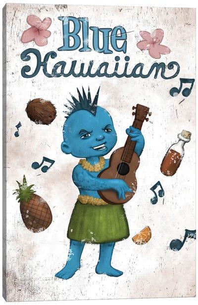 Blue Hawaiian Canvas Art Print