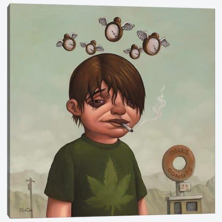 Four Twenty 3-Piece Canvas #BOD9} by Bob Dob Art Print
