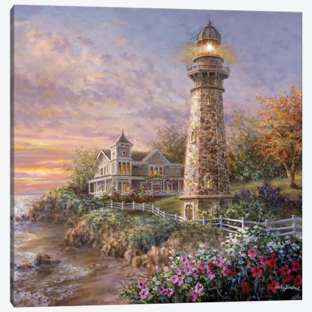 Majestic Guardian Canvas Print #BOE103} by Nicky Boehme Canvas Artwork