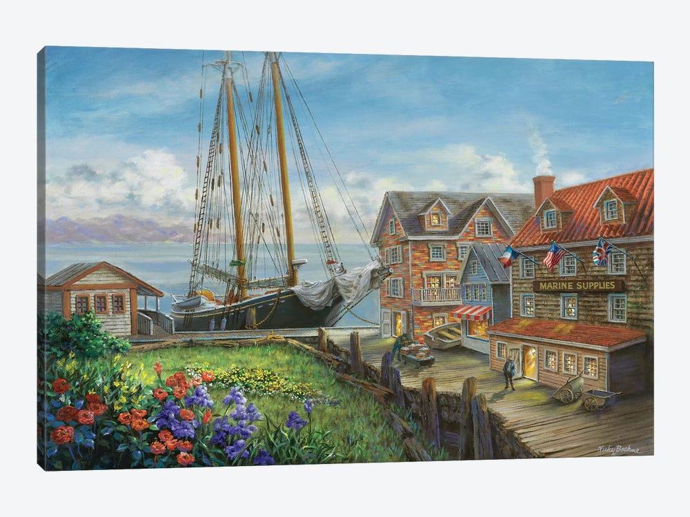 Marine Supplies by Nicky Boehme 1-piece Canvas Art