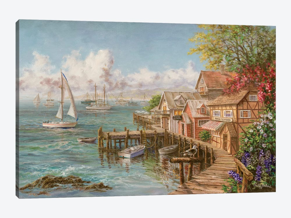 Mariner's Haven by Nicky Boehme 1-piece Canvas Print