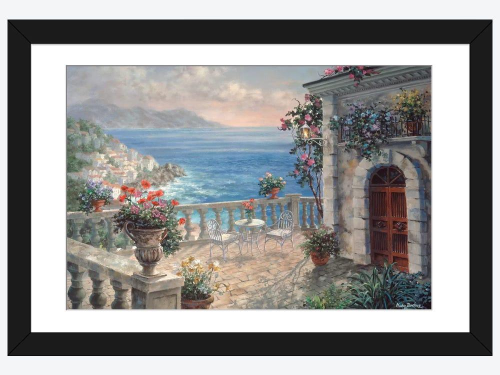 Mediterranean Elegance Canvas Wall Art By Nicky Boehme