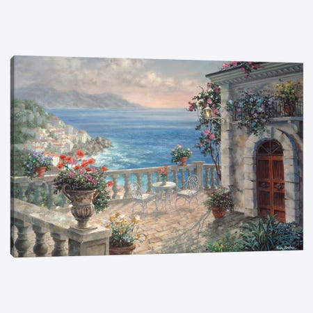 Mediterranean Elegance Canvas Print #BOE106} by Nicky Boehme Canvas Art Print