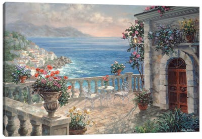Mediterranean Elegance Canvas Art Print