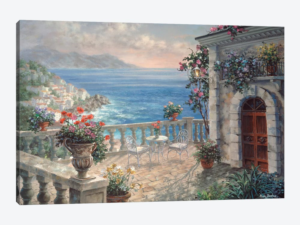 Mediterranean Elegance Canvas Wall Art By Nicky Boehme Icanvas