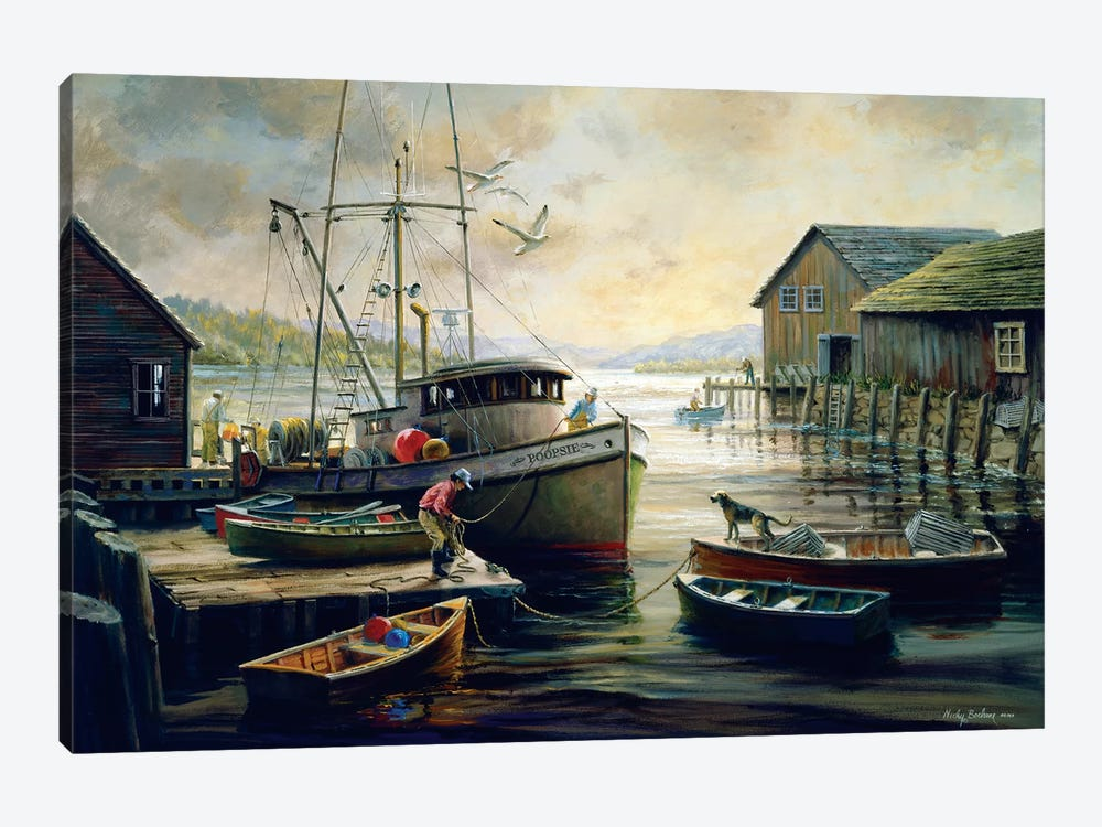 Anticipation by Nicky Boehme 1-piece Canvas Art