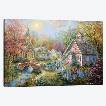 Moral Guidance Canvas Print #BOE110} by Nicky Boehme Canvas Art Print