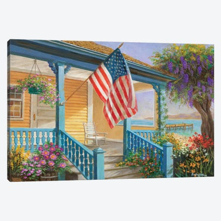 My Home Sweet Home Canvas Print #BOE112} by Nicky Boehme Canvas Print