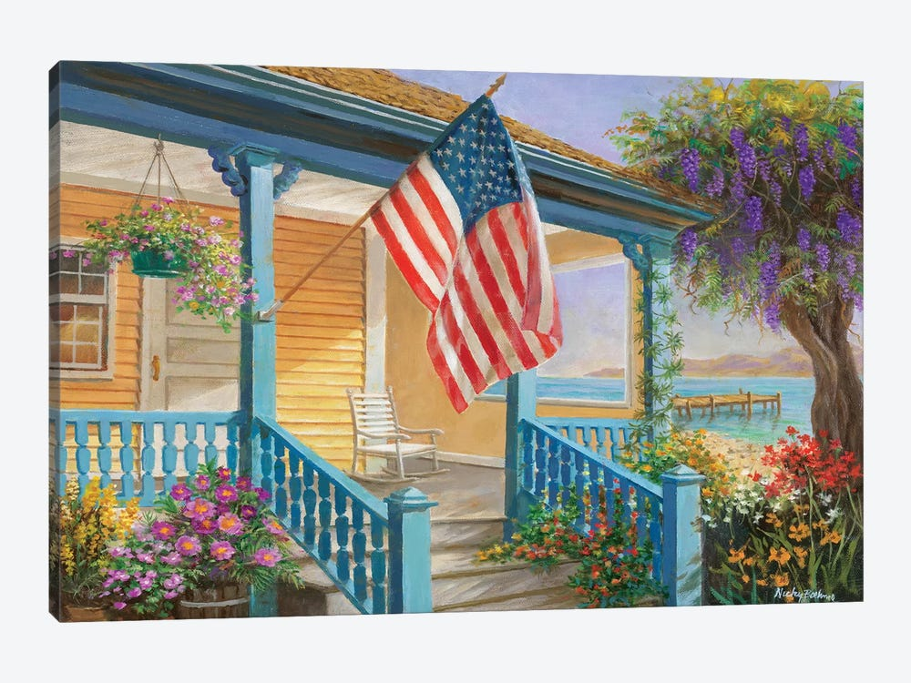 My Home Sweet Home by Nicky Boehme 1-piece Canvas Print