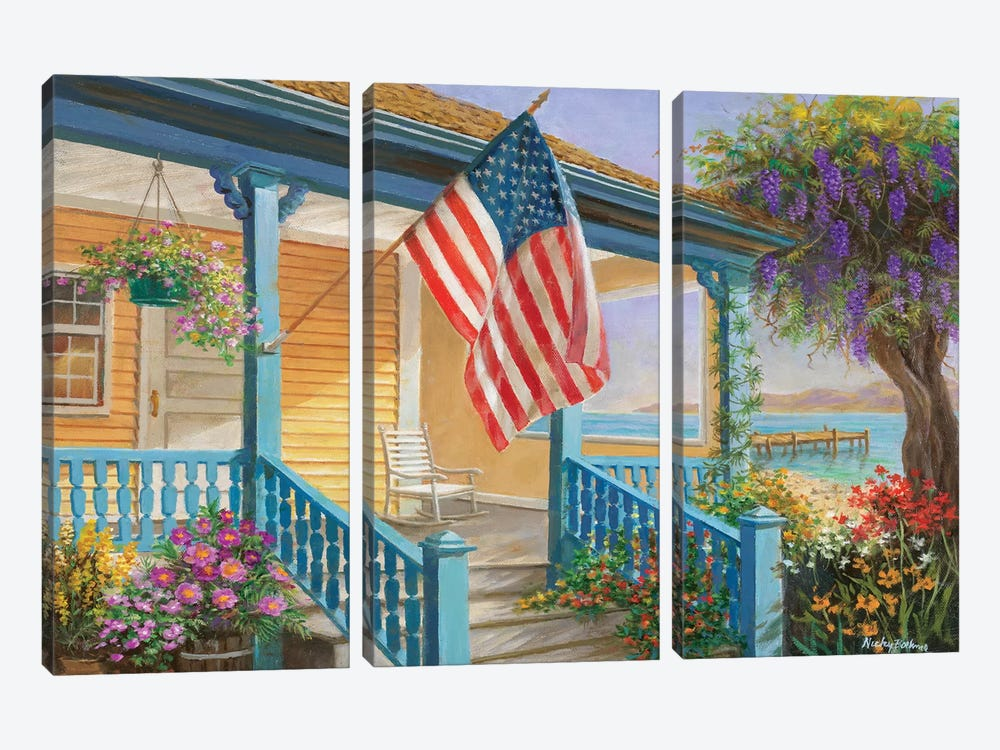My Home Sweet Home by Nicky Boehme 3-piece Art Print