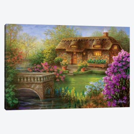 My Summer Hideaway Canvas Print #BOE113} by Nicky Boehme Art Print