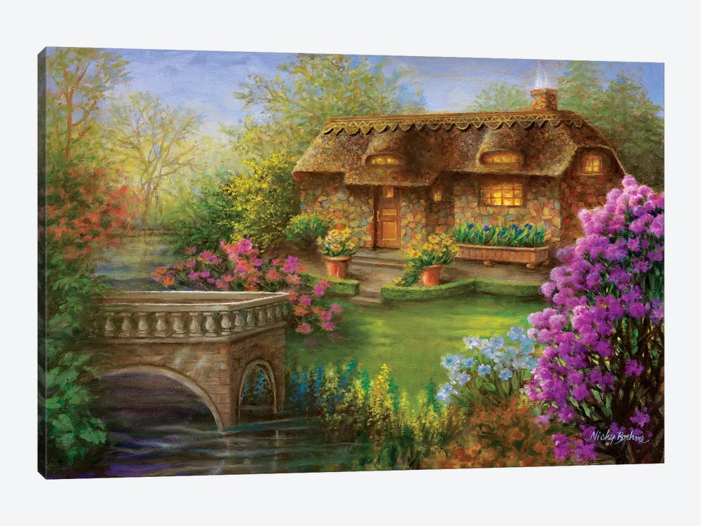 My Summer Hideaway by Nicky Boehme 1-piece Canvas Wall Art