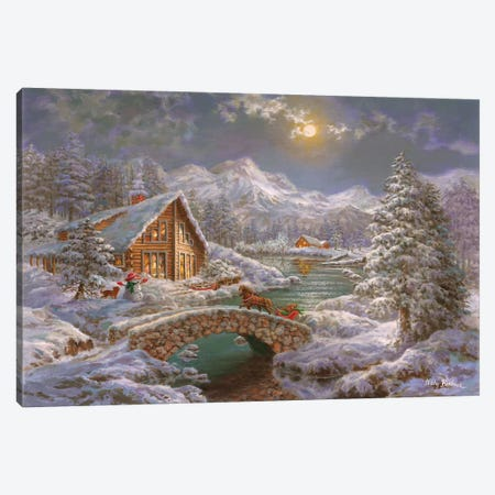 Nature's Magical Season Canvas Print #BOE114} by Nicky Boehme Canvas Artwork