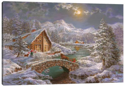 Nature's Magical Season Canvas Art Print