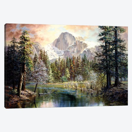 Nature's Wonderland Canvas Print #BOE115} by Nicky Boehme Canvas Wall Art