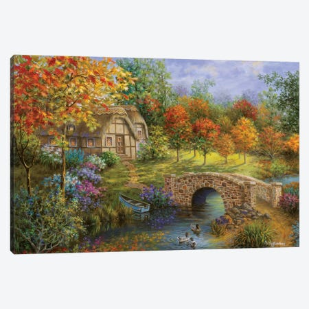 Autumn Beauty Canvas Print #BOE11} by Nicky Boehme Canvas Print