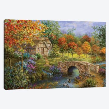 Autumn Beauty Canvas Print #BOE11} by Nicky Boehme Canvas Print