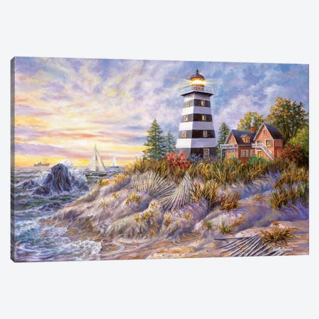 Out Of Harm's Way Canvas Print #BOE120} by Nicky Boehme Canvas Art