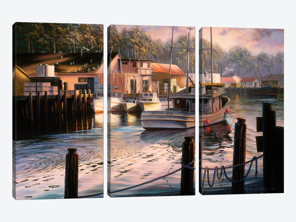 Point Of View by Nicky Boehme 3-piece Canvas Art