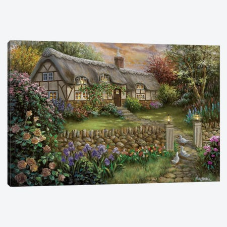 Rapture Canvas Print #BOE128} by Nicky Boehme Canvas Wall Art