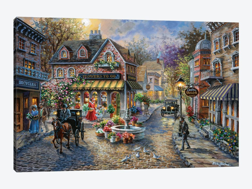 Remembrance by Nicky Boehme 1-piece Canvas Art Print