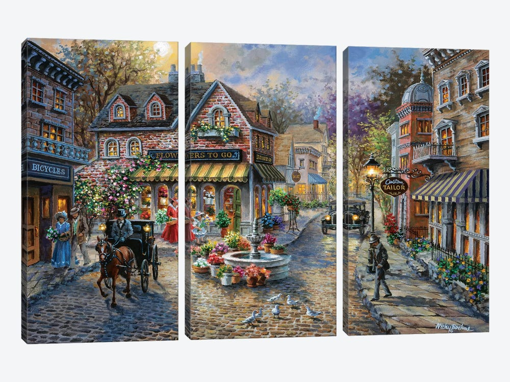 Remembrance by Nicky Boehme 3-piece Art Print