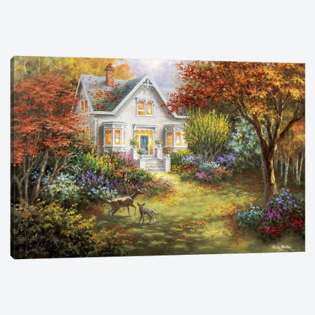 Autumn Overtures Canvas Print #BOE12} by Nicky Boehme Canvas Art Print