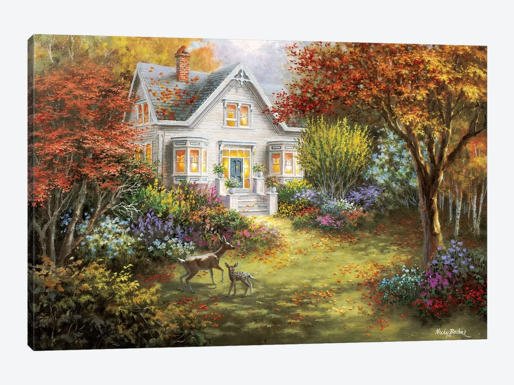 Autumn Overtures by Nicky Boehme 1-piece Canvas Art