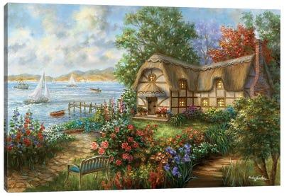 Seacove Cottage Canvas Print #BOE132