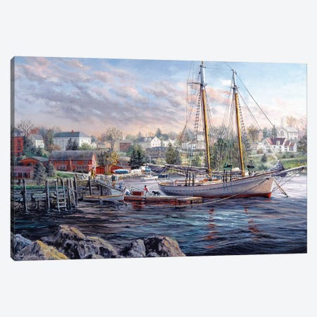 Seafarer's Delight Canvas Print #BOE133} by Nicky Boehme Canvas Art Print