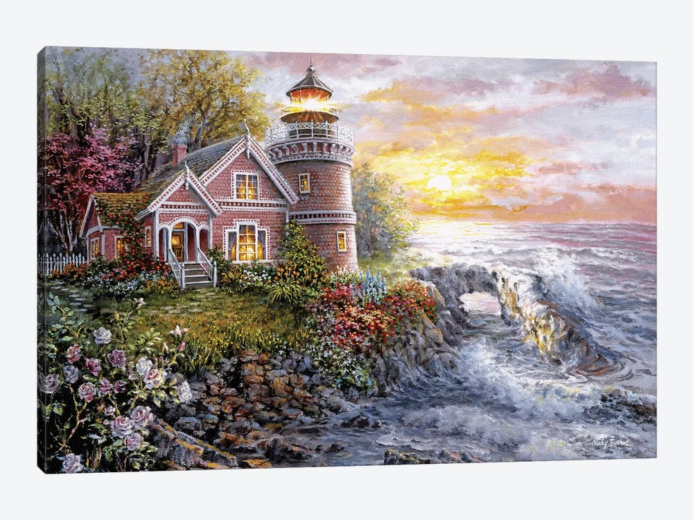 Seafarer's Vigilant Sentry by Nicky Boehme 1-piece Canvas Print