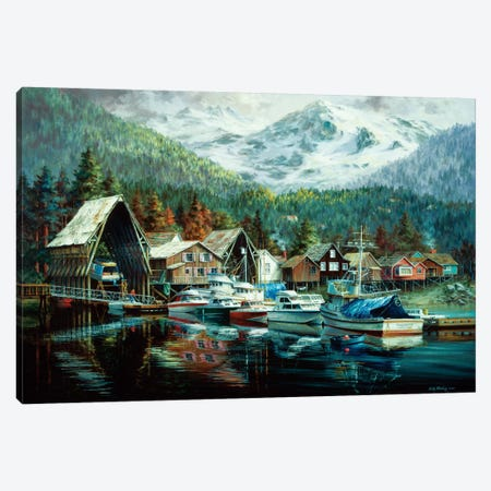 Season's Beginning Canvas Print #BOE135} by Nicky Boehme Canvas Art
