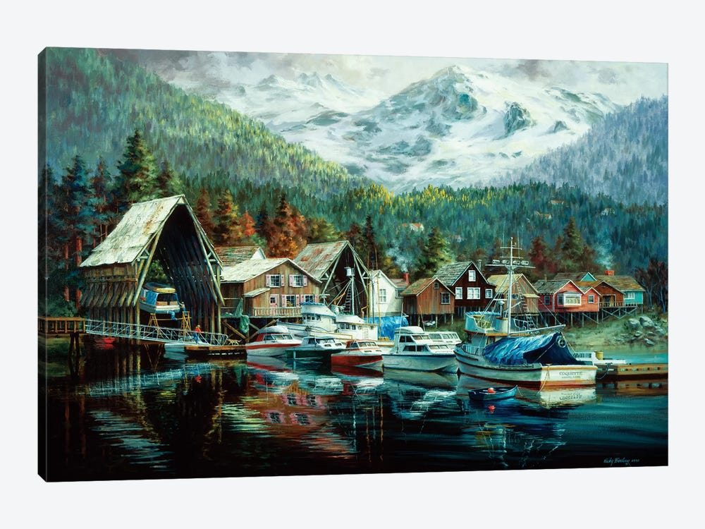 Season's Beginning by Nicky Boehme 1-piece Canvas Artwork