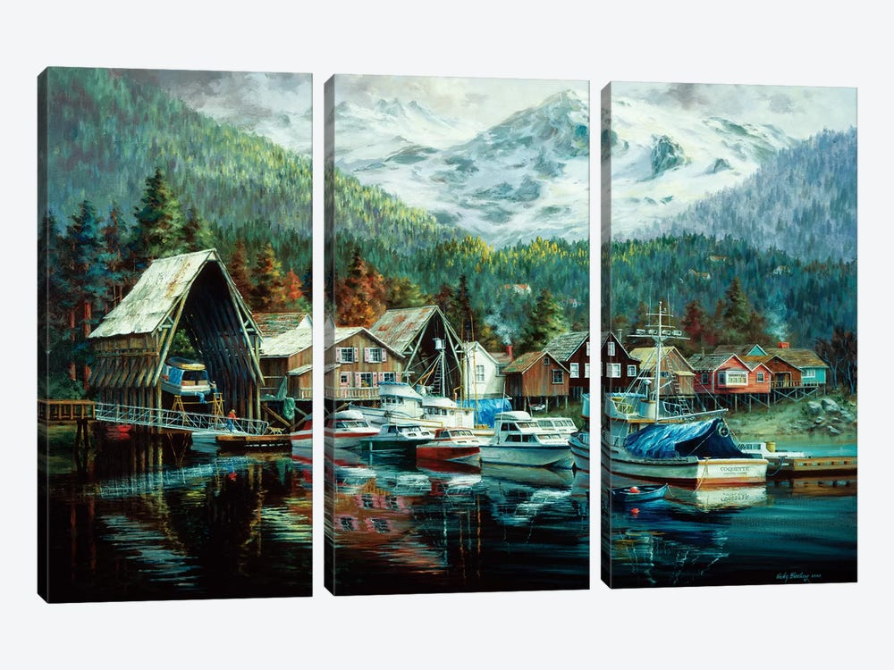 Season's Beginning by Nicky Boehme 3-piece Canvas Art