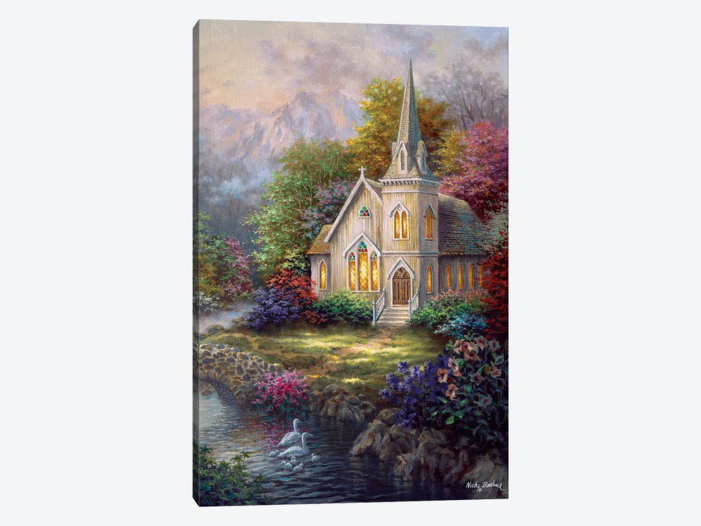 Serenity by Nicky Boehme 1-piece Canvas Art