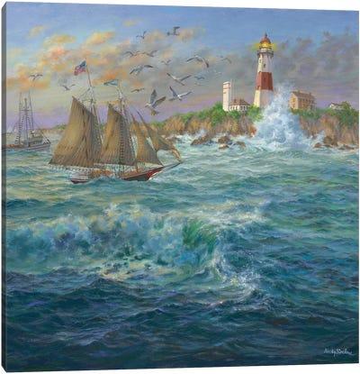 Shipmates Canvas Print #BOE138