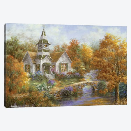Autumn Worship Canvas Print #BOE13} by Nicky Boehme Canvas Print