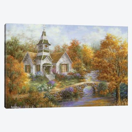 Autumn Worship Canvas Print #BOE13} by Nicky Boehme Canvas Print