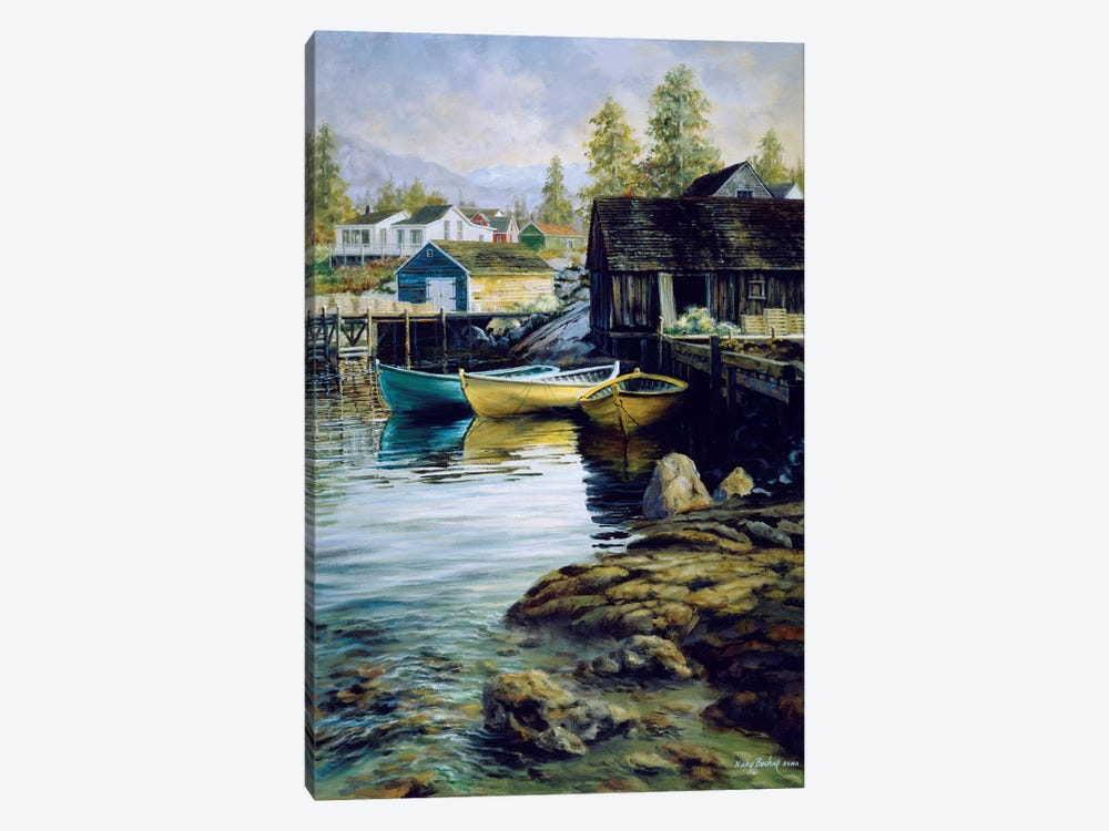 Solitude by Nicky Boehme 1-piece Canvas Artwork