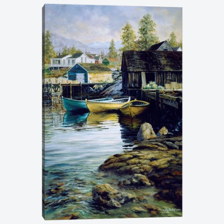 Solitude Canvas Print #BOE142} by Nicky Boehme Canvas Artwork