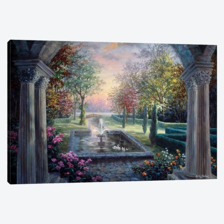 Soulful Mediterranean Tranquility Canvas Print #BOE143} by Nicky Boehme Canvas Art