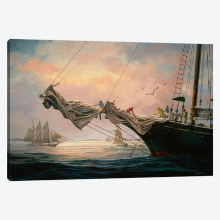 Star Of India Canvas Print #BOE148} by Nicky Boehme Canvas Art