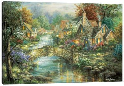 Stonehedge Bridge Canvas Art Print