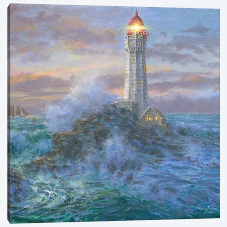 Stormy Weather Canvas Print #BOE150} by Nicky Boehme Art Print