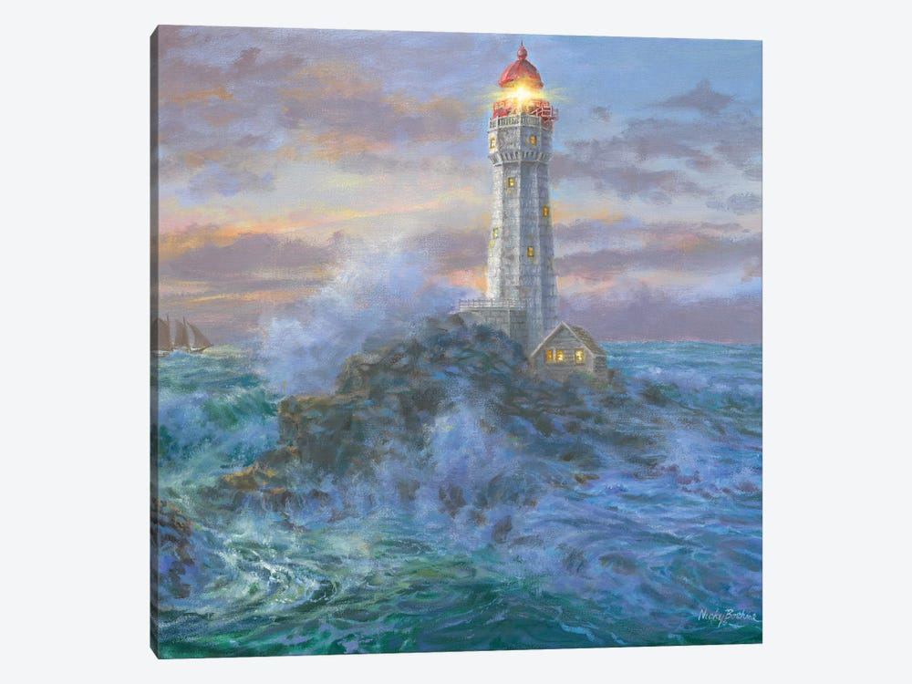 Stormy Weather by Nicky Boehme 1-piece Canvas Print