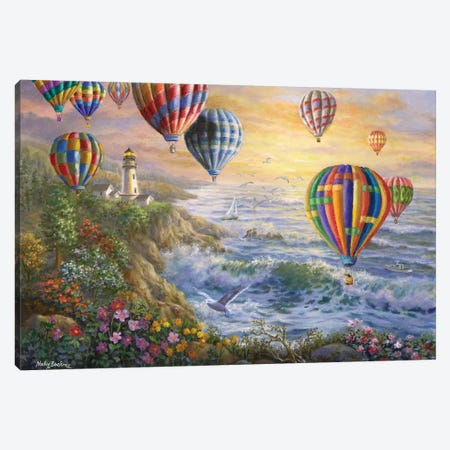 Summer Glow Canvas Print #BOE151} by Nicky Boehme Canvas Print