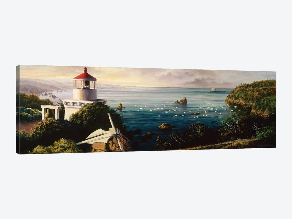 The Cove Guardian by Nicky Boehme 1-piece Canvas Print