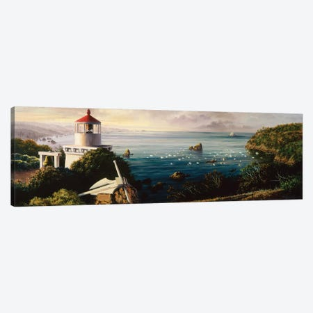 The Cove Guardian Canvas Print #BOE152} by Nicky Boehme Art Print