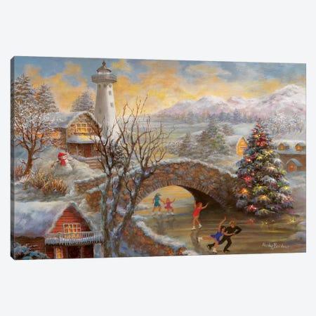 The Joyous Season Canvas Print #BOE153} by Nicky Boehme Canvas Print